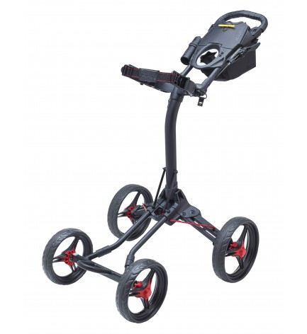 BagBoy QUAD XL  Push Cart Black / Lime Color