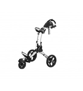 Clicgear Rovic RV1S  3 Wheel Golf Push Cart Swivel  White