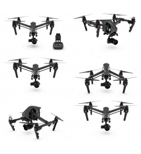 DJI Inspire 1 Pro Black Edtion w / Zenmuse X5 4K camera, single remote  In Stock now