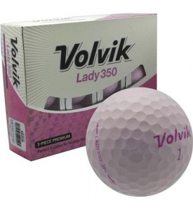 Volvik Lady350 Golf Ball ( Pink )