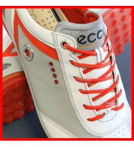 2015 New Ecco Mens Golf Shoes BIOM Zero Plus WHITE / FIRE EU 40 41 42 43 $200