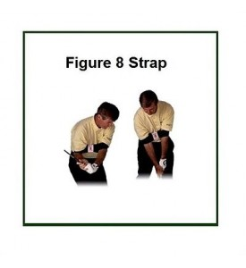 Figure 8 Strap XL Golf Full Swing Training Aid Keeping the Elbows Together