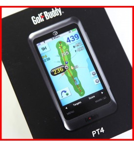 GolfBuddy PT4 Platinum 4  Golf Buddy GPS