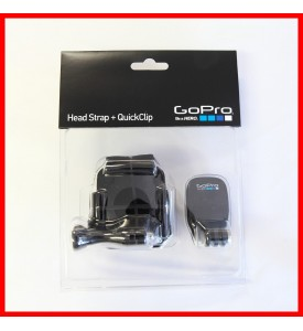 GoPro Head Strap QuickClip 100% Authentic for All Camera ACHOM-001 $20