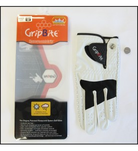 Womens Golf Glove #1 GripBite All Weather Gloves Large (22) 5 Pairs $75