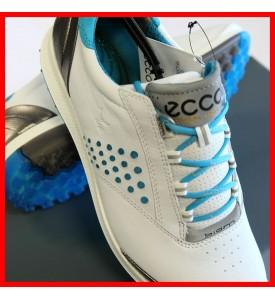 New ECCO Women's BIOM Hybrid 2 Golf Shoes WHITE / DANUBE  EU 36 37 38 $200