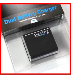 GoPro Dual Battery Charger + Battery100% Authentic for HERO4 AHBBP-401
