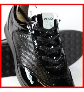 New ECCO Women's Street EVO One Luxe Golf Shoes Black EU 36 37 $200
