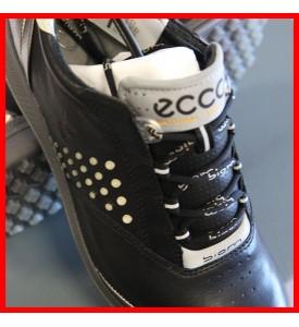 New ECCO Women's BIOM Hybrid 2 Golf Shoes BLACK / SILVER EU 36 37 38 $200