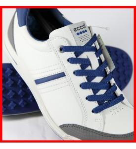 2015 New Ecco Mens Golf Street Retro - White/Titanium/Royal EU 39 40 41 42