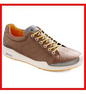 New ECCO Biom Hybrid MEN'S Golf Shoes Brown Fanta EU 40 41 42 43 44 45 46 $200