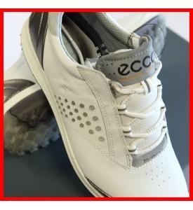 New ECCO Women's BIOM Hybrid 2 Golf Shoes WHITE / SILVERLE EU 36 37 38 $200