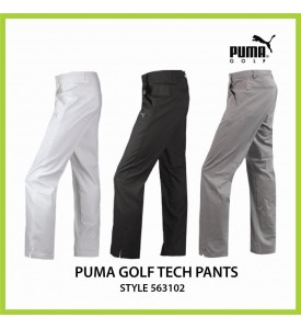 New Puma Golf Tech Style Pants White Black Limestone 30 32 34 36 38  $85