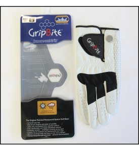 Mens Golf Glove #1 GripBite All Weather Gloves Small (23) 2 Pairs $30