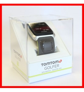 New TomTom Golf GPS Watch Gray / Green Money back guarantee Authorized Dealer