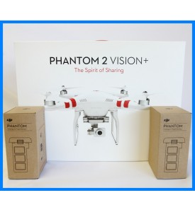 New Model DJI Phantom 2 Vision+ V3.0 with 2 Extra Battery Ready to ship out