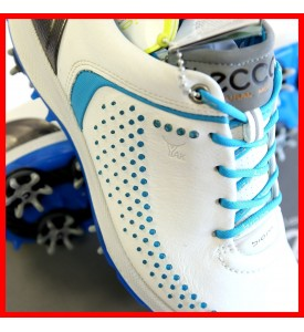 2015 New Ecco Womens Spike Golf Shoes Biom G2 - White / Danube EU 36 37 38 39