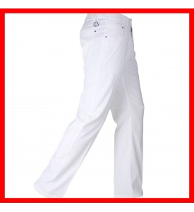 New Puma Golf Solid 5 Pocket Tech Pants white 32 34 36 38 $85