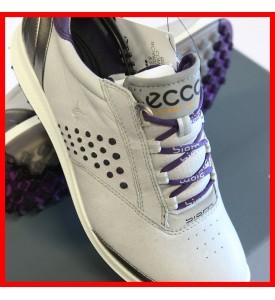 New ECCO Women's BIOM Hybrid 2 Golf Shoes CONCRETE / PURPLE  EU 36 37 38 $200