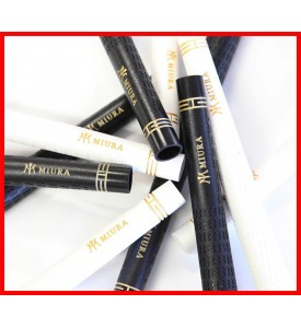 Miura Golf Wood Iron Grip PURE Black or Whit / Gold MIURA Logo Made is USA