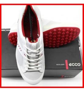 ECCO Mens Street Textile Golf Shoes White Brick  EU 40 US 6 - 6.5 $180
