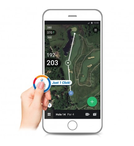Golfwith GPS Smart Marker / Voice GPS Golfball Marker for IOS and Android