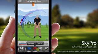 SkyPro Golf Swing Analyzer